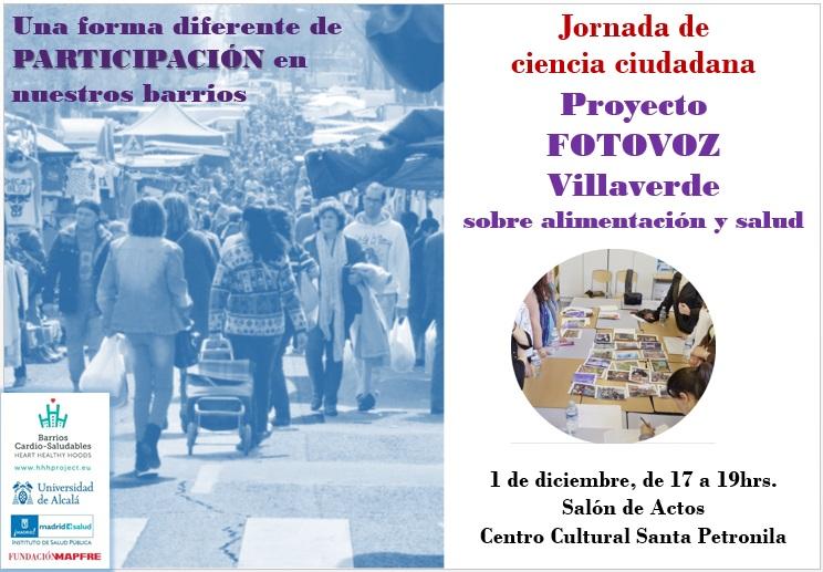 Jornada de ciencia ciudadana Villaverde